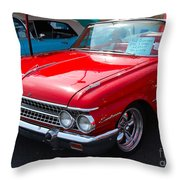 Ford Sunliner Throw Pillow