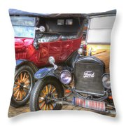 Ford-t  Mobiles Of The 20th Throw Pillow