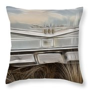 Ford Tail Lights 2 Throw Pillow