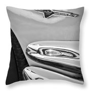Ford Thunderbird Emblem -0505bw Throw Pillow