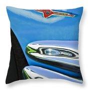 Ford Thunderbird Emblem -0505c Throw Pillow