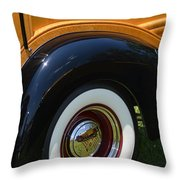 Ford Wagon Throw Pillow