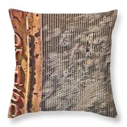 Fordson Vintage Tractor Throw Pillow