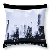 Forecast Throw Pillow