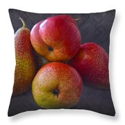 Forelle Pears Throw Pillow