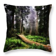 Forest 6 Throw Pillow