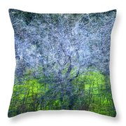 Forest City Throw Pillow
