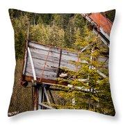 Forest Coveyor Throw Pillow