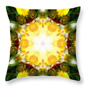 Forest Dawning Throw Pillow