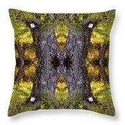 Forest Disaster C Throw Pillow