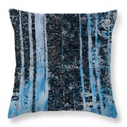 Forest Four Hours Of Daylight Throw Pillow