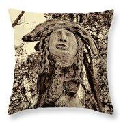 Forest Gardian Throw Pillow