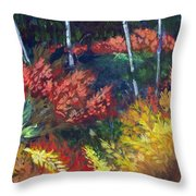 Forest Glade Throw Pillow