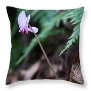 Forest Joy Throw Pillow