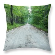 Forest Lane Throw Pillow