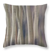 Forest Of Dreams 2  Panorama Throw Pillow