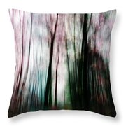 Forest Of Imagination Throw Pillow
