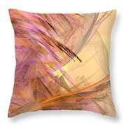 Forest Of The Fairies Throw Pillow