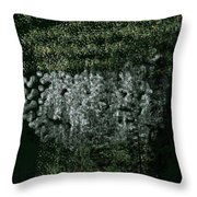 Forest On The Mountainside Throw Pillow