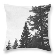 Forest Ridge Throw Pillow