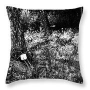 Forest Socket Throw Pillow