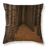 Forest Soldiers... Throw Pillow