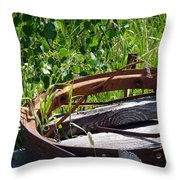 Forest Takeover Throw Pillow