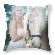 Forest Tale Throw Pillow