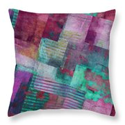 Forever - Abstract Art  Throw Pillow