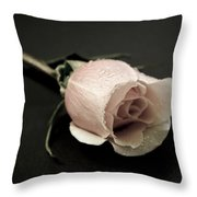 Forever A Rose Throw Pillow