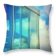 Forever Blue Throw Pillow