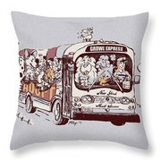 Forever Homeward Version Two Throw Pillow