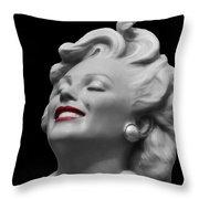 Forever Marilyn Throw Pillow