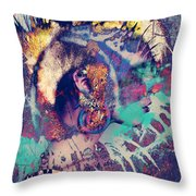 Forever Punk  Throw Pillow