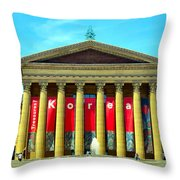 Forever Stairs Throw Pillow