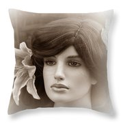 Forever Young Two Throw Pillow