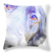 A Dog Will Be Forever Yours  Throw Pillow