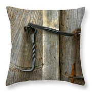 Forged Locks Throw Pillow
