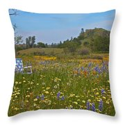 Forget The Beach Throw Pillow