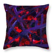 Forgiven Scars Throw Pillow