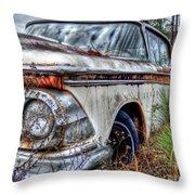 Forgotten Edsel Throw Pillow