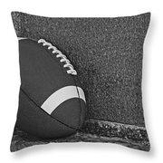 Forgotten Football  Throw Pillow