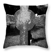 Forgotten Graveyard Throw Pillow