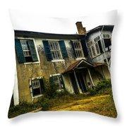 Forgotten House IIi Throw Pillow