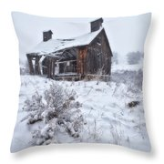 Forgotten In Time Throw Pillow by Darren  White