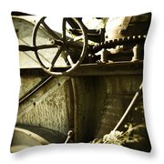 Forgotten Machine 4710 Throw Pillow
