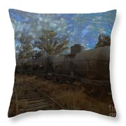 Forgotten Yard Throw Pillow