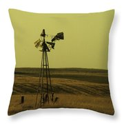 Forlorn Throw Pillow