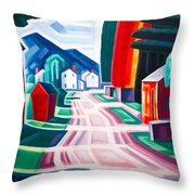 Form And Light Throw Pillow