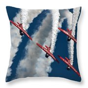 Formation And Smoke Throw Pillow